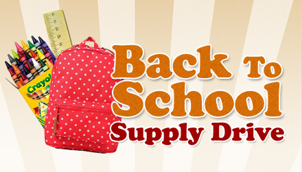 VEAP is collecting school supplies through August 9